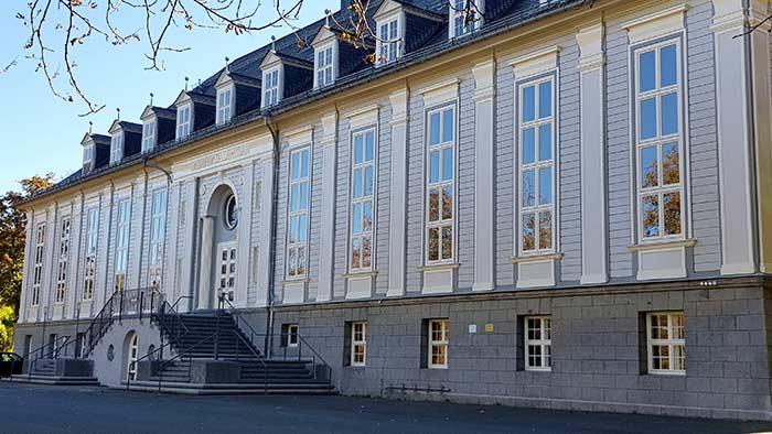 Architekten-HDR__TU Clausthal Aula aussen